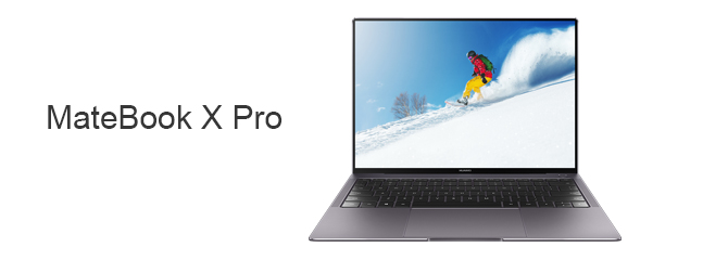 The new MateBook X Pro from Huawei!