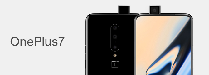 Image leaks of the new OnePlus7 phone