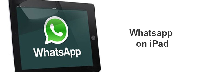 Whatsapp on iPad soon