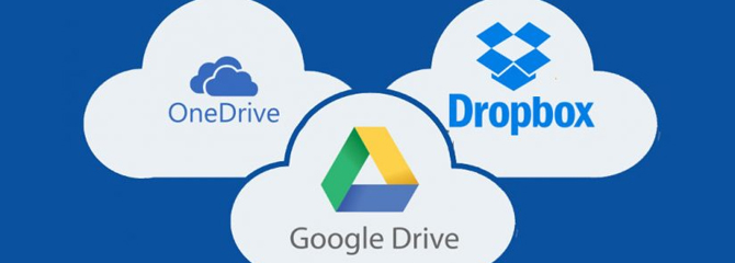 Cloud Service as a main storage!