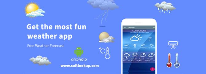 Free Weather Forecast App