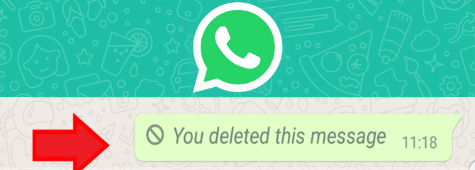 Steps to delete Whatsapp messages after being read.